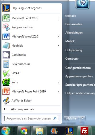 Excel starten