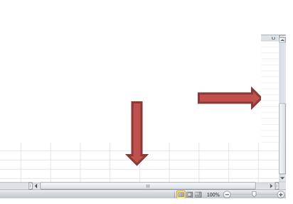 Excel schuifbalk