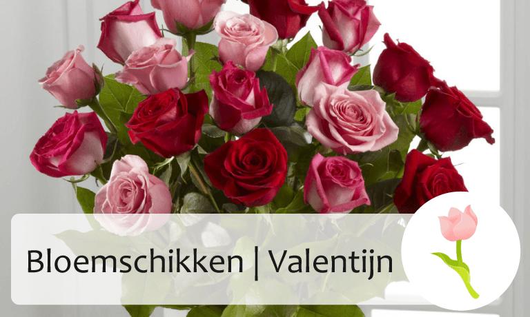 Bloemschikken Valentijn